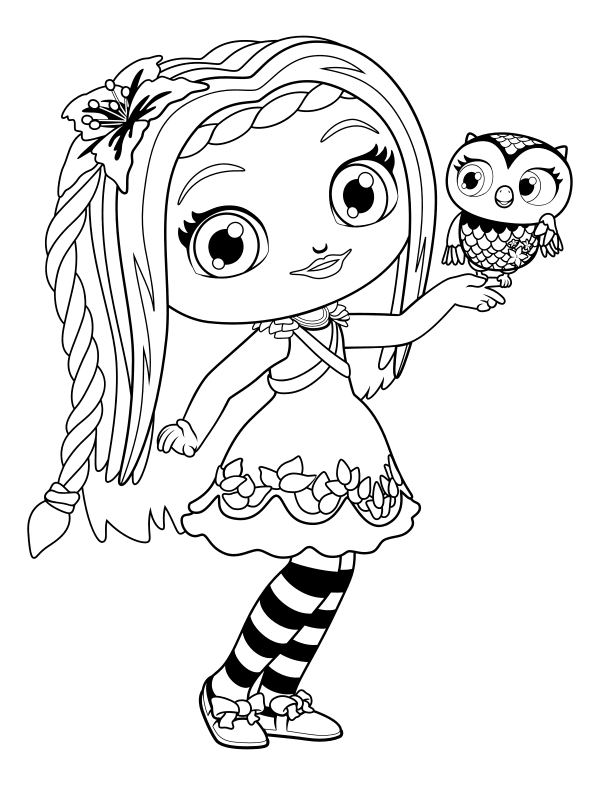 coloring little charmers little charmers coloring pages sketch coloring page charmers little coloring