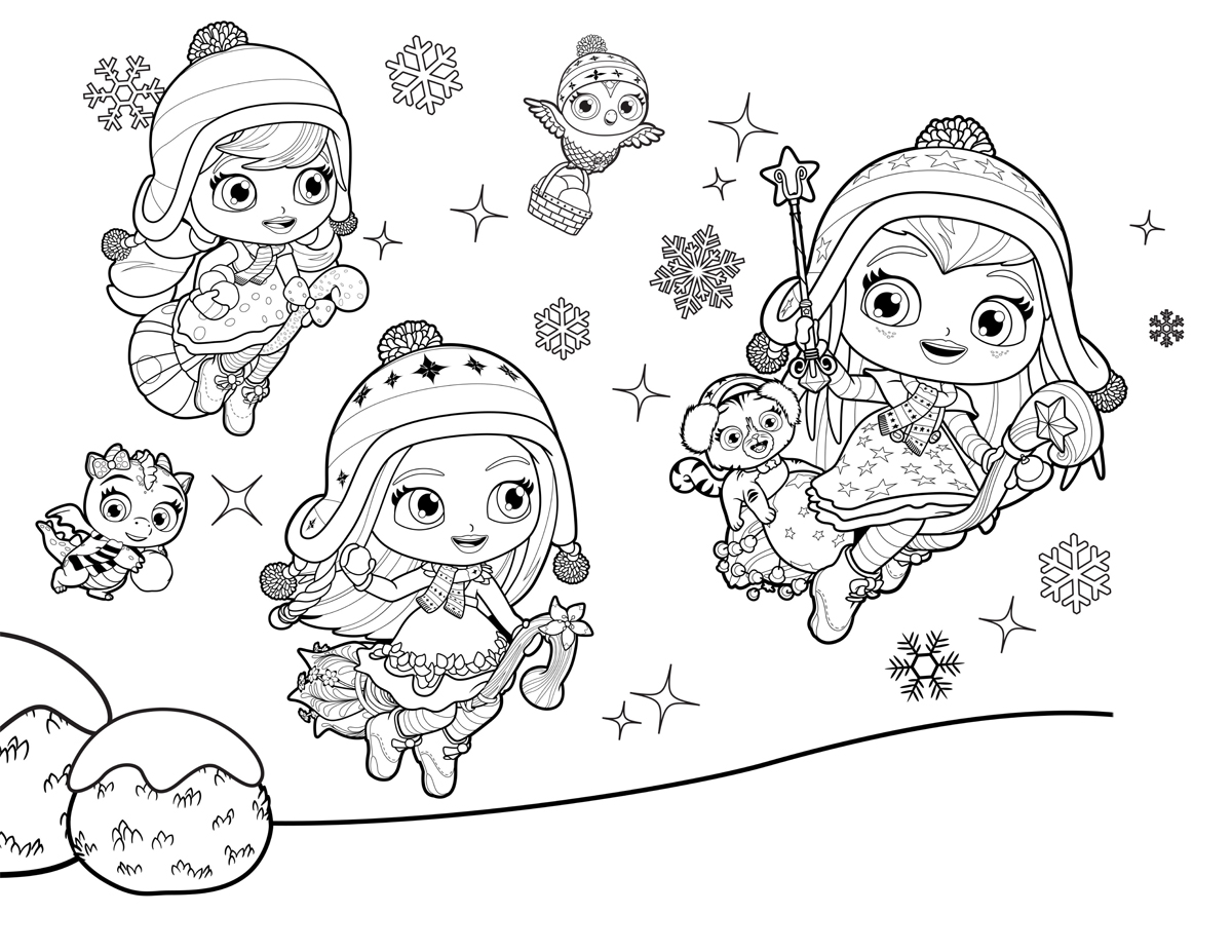 coloring little charmers posie little charmers coloring pages sketch coloring page little charmers coloring
