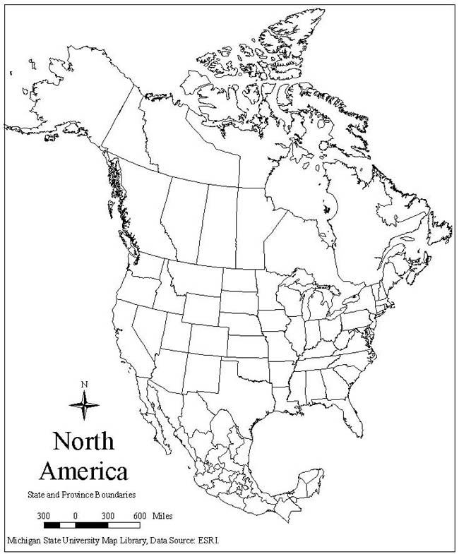 coloring map north america 5 best images of printable map of north america map america north coloring