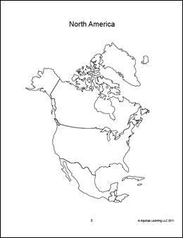 coloring map north america geography the americas and the 50 us states north map coloring america
