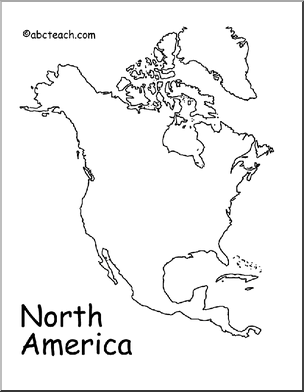 coloring map north america map north america outline preview 1 north america america north coloring map