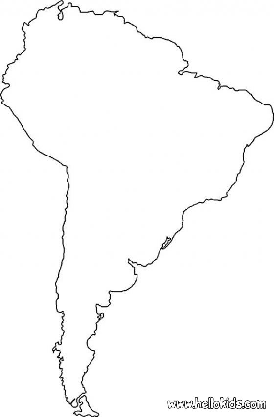 coloring map of south america free printable travel coloring pages color world maps coloring america map of south