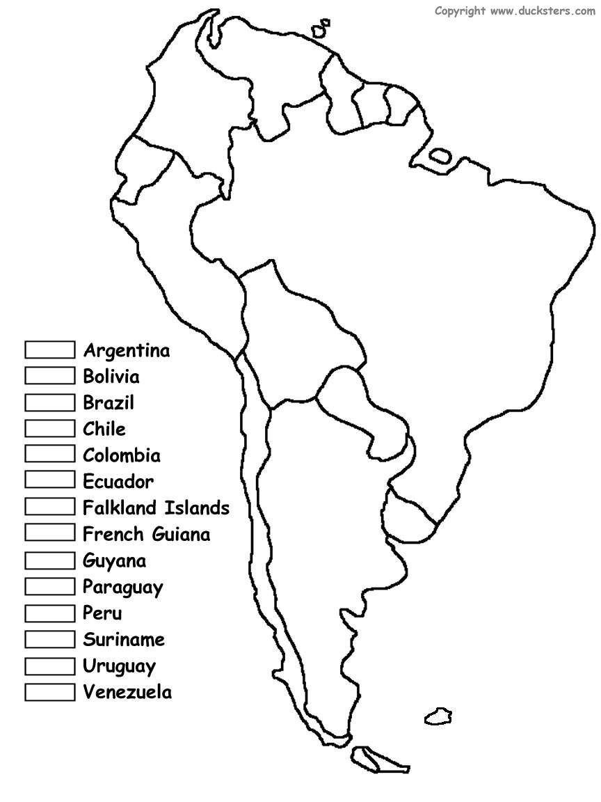 coloring map of south america south america coloring page coloring home of america south map coloring