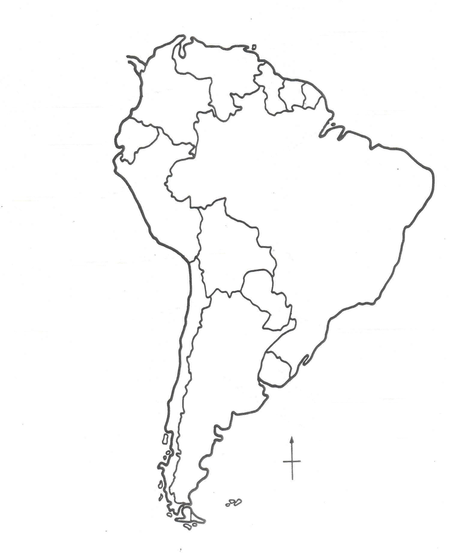 coloring map of south america south america coloring page coloring home of south coloring map america