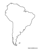 coloring map of south america south america coloring pages of coloring america south map
