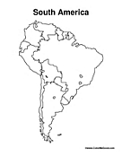 coloring map of south america south america map map of south america maps and map america of south coloring