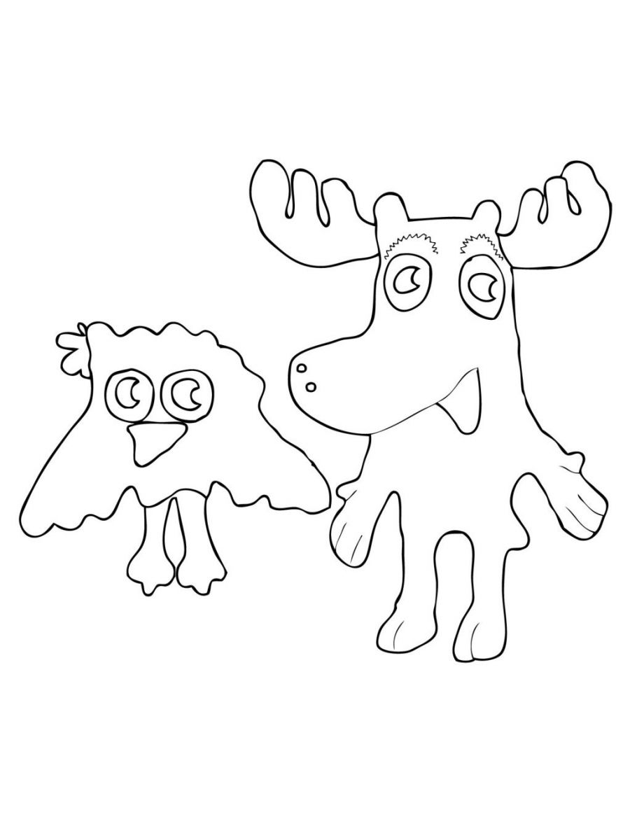 coloring moose free printable moose coloring pages for kids moose coloring