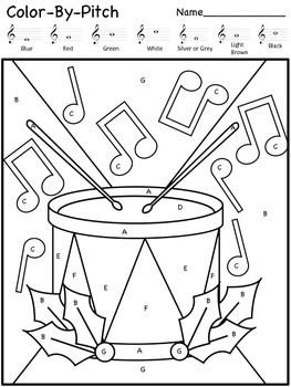 coloring music for kindergarten drumpuzzlejpg music teaching resources elementary for kindergarten music coloring