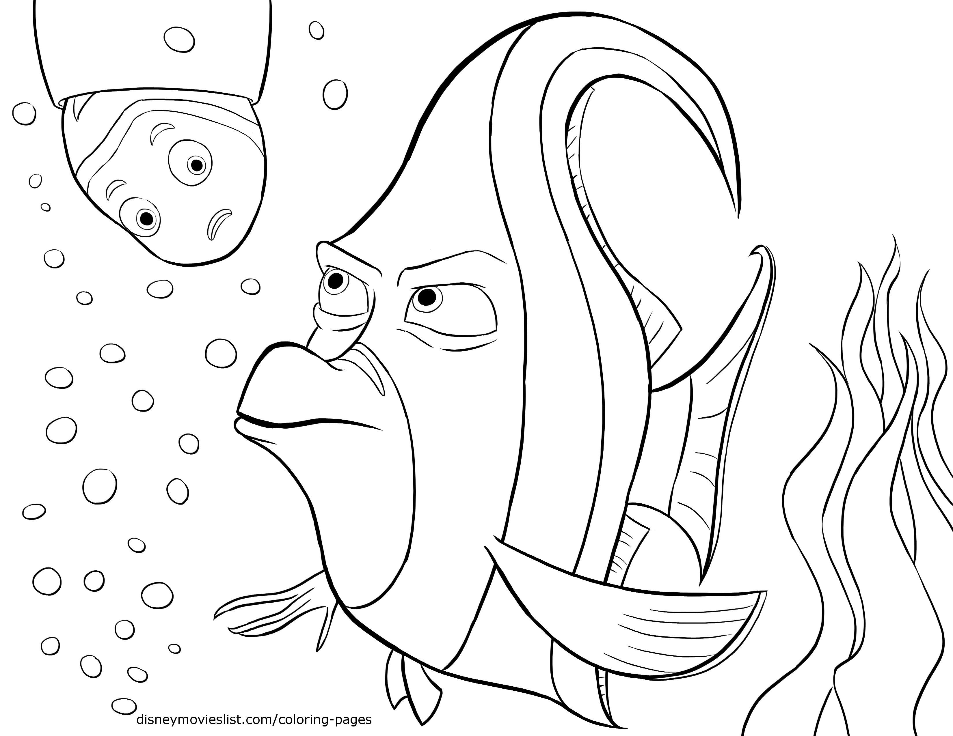 coloring nemo characters download finding nemo coloring pages finding nemo nemo coloring characters