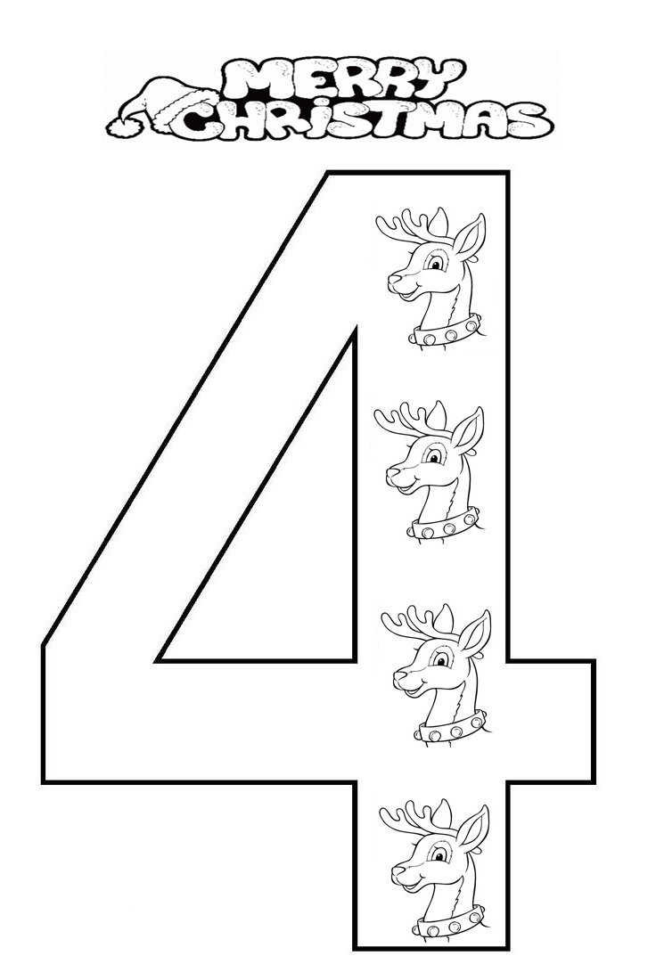 coloring number 4 preschool craftsactvities and worksheets for preschooltoddler and preschool 4 number coloring