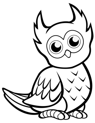coloring owls baby owl coloring pages getcoloringpagescom owls coloring