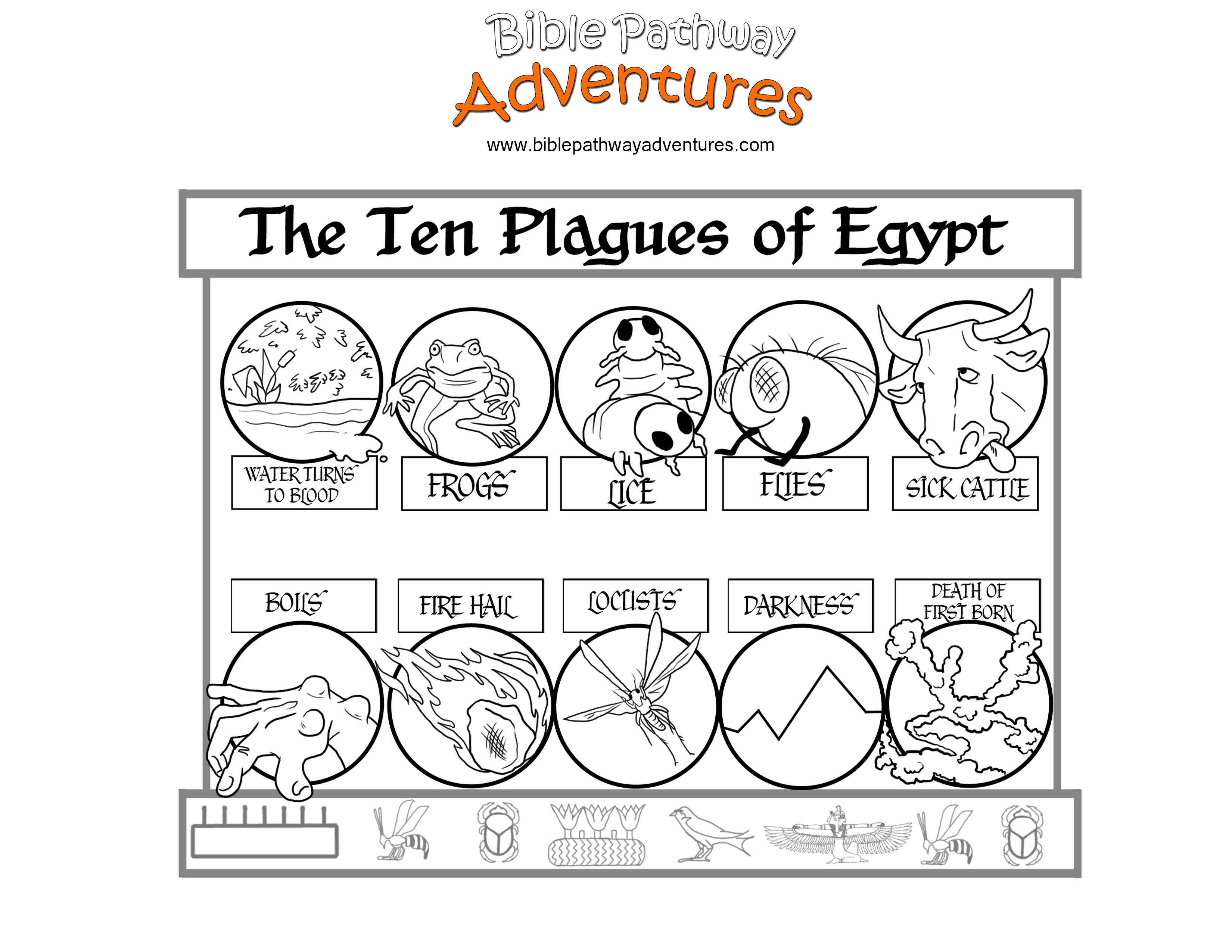 coloring page 10 plagues for kids 10 plagues coloring passover haggadah by melanie fine plagues 10 kids page for coloring