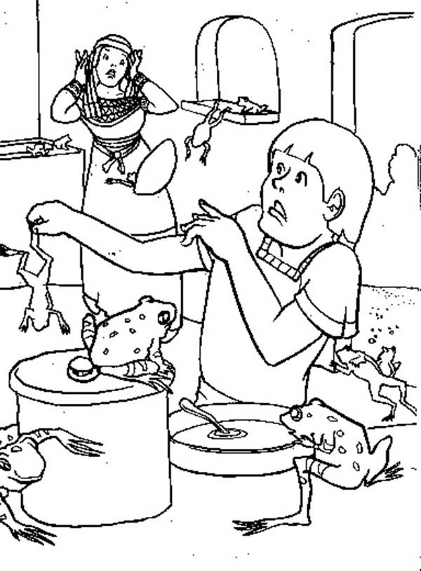 coloring page 10 plagues for kids lunchbox matching game for pesach welcome to preschool 10 kids page plagues coloring for