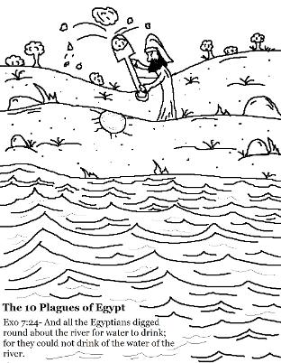 coloring page 10 plagues for kids printable coloring page ten plagues of egypt bible coloring plagues page for kids 10