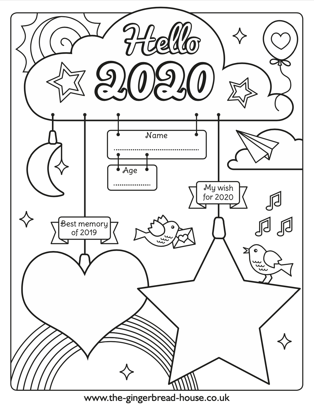 coloring page 2020 22 free new year 2020 coloring pages printable coloring 2020 page