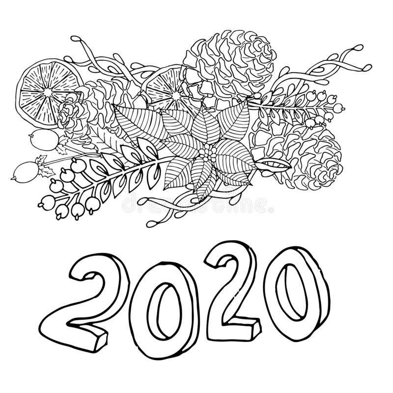 coloring page 2020 new years 2020 coloring bundle 32 pages new years 2020 2020 coloring page