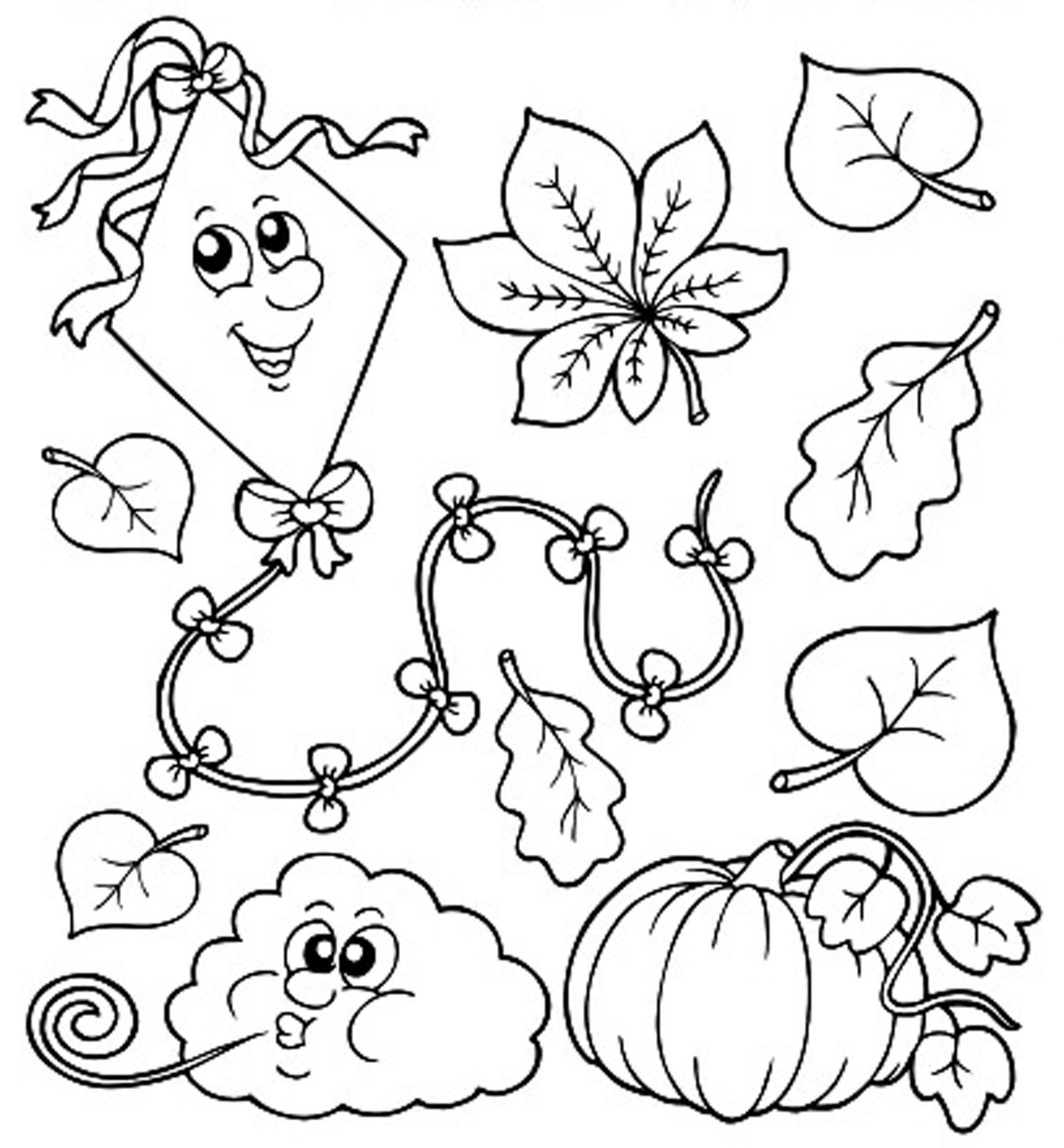 coloring page autumn fall coloring sheets printable activity shelter autumn coloring page