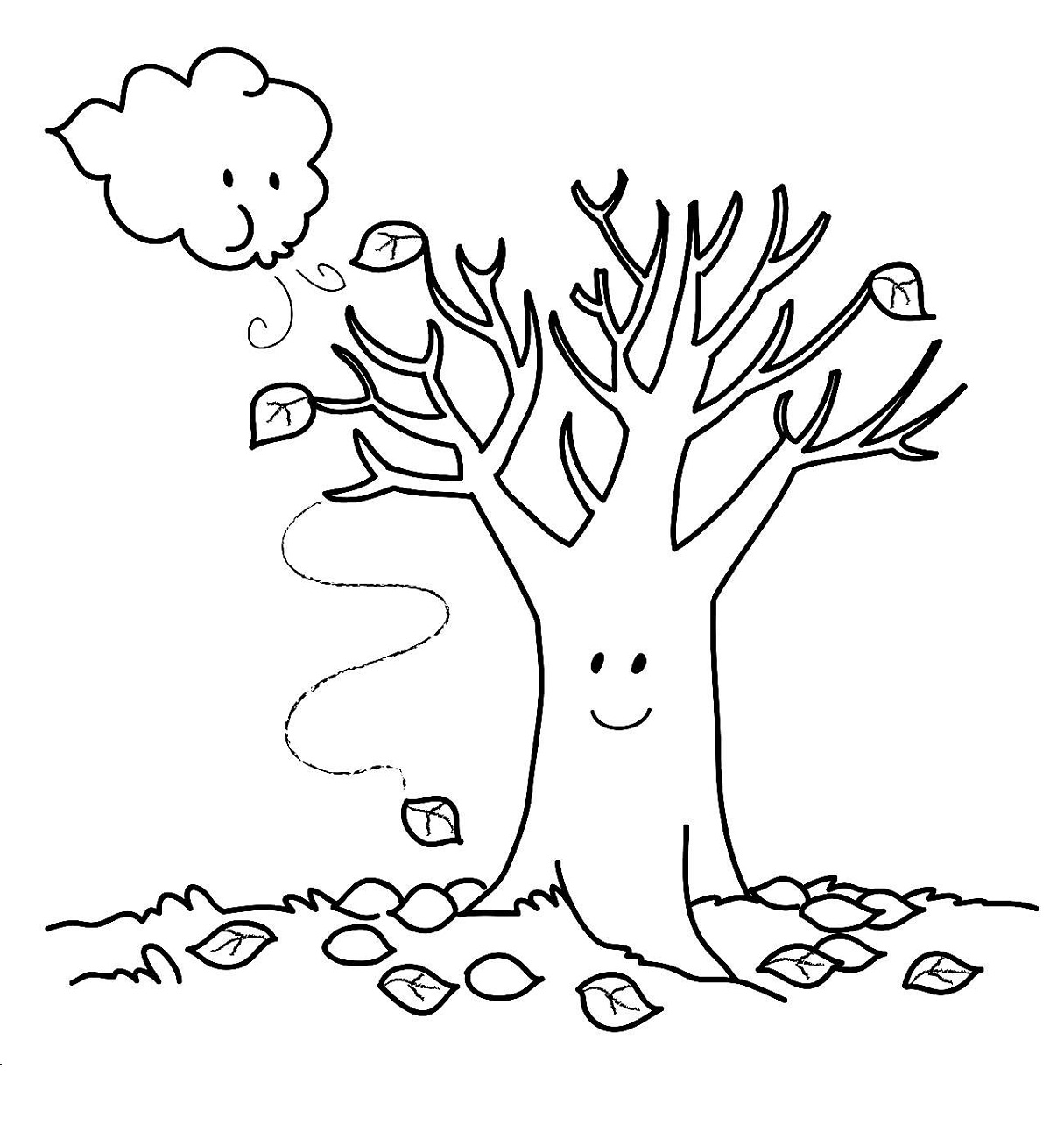 coloring page autumn fall coloring sheets printable activity shelter coloring autumn page