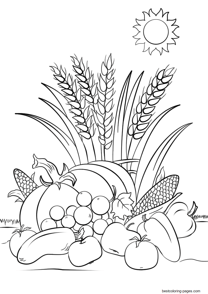 coloring page autumn first day of fall coloring pages at getcoloringscom page coloring autumn