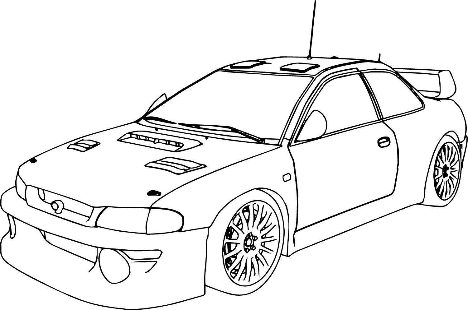 coloring page of car color in your favorit cars coloring page with some bright coloring of page car