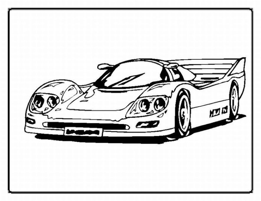 coloring page of car cool coloring pages of cars at getcoloringscom free of page coloring car