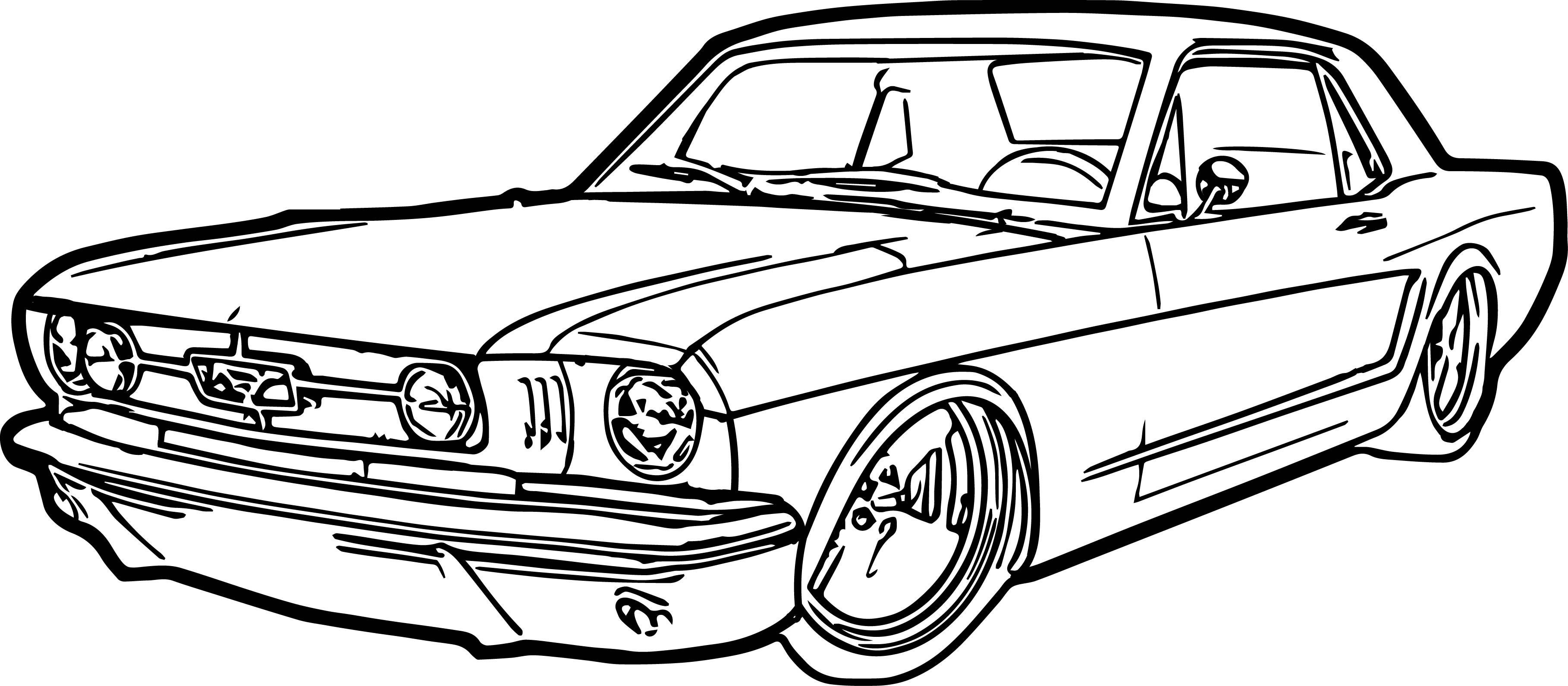coloring page of car drag car drawings free download on clipartmag coloring of car page