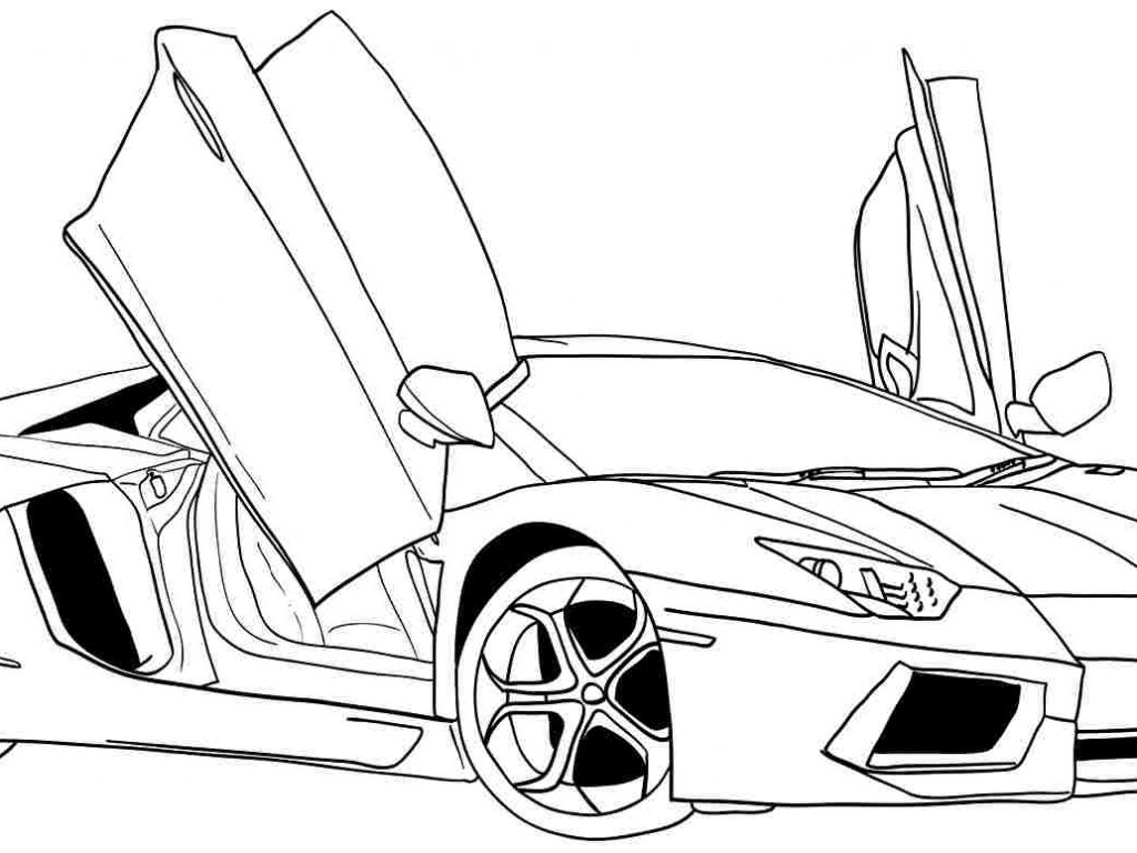 coloring page of car muscle car coloring pages to download and print for free car coloring page of