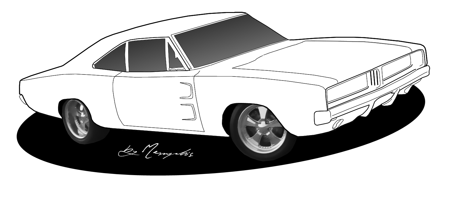 coloring page of car muscle car coloring pages to download and print for free of page car coloring