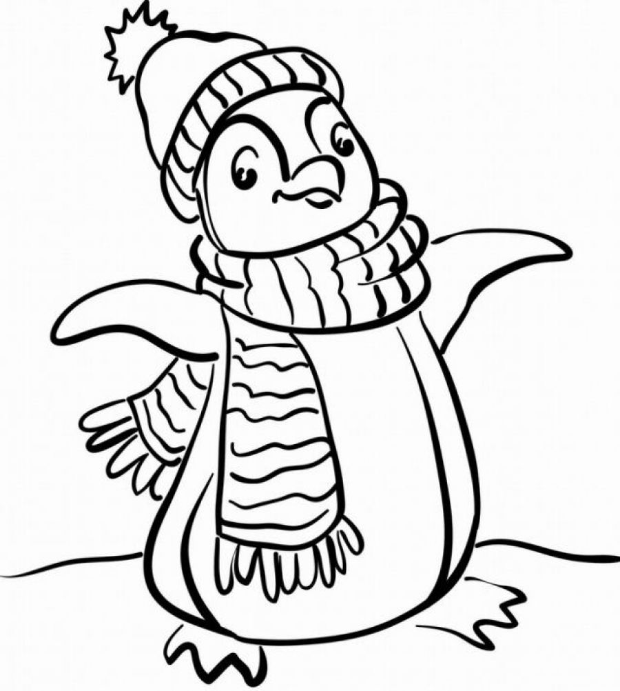 coloring page of penguin cute baby penguin coloring pages only coloring pages coloring page penguin of