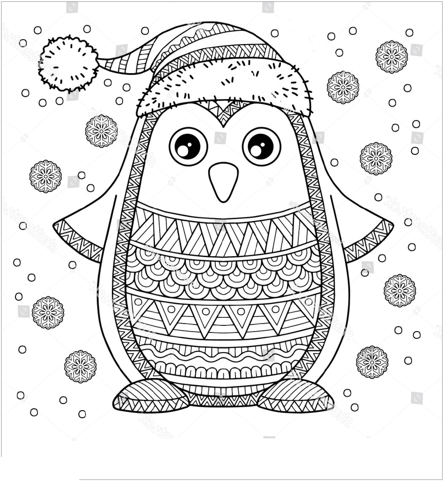 coloring page of penguin cute penguin coloring pages download and print for free coloring page of penguin