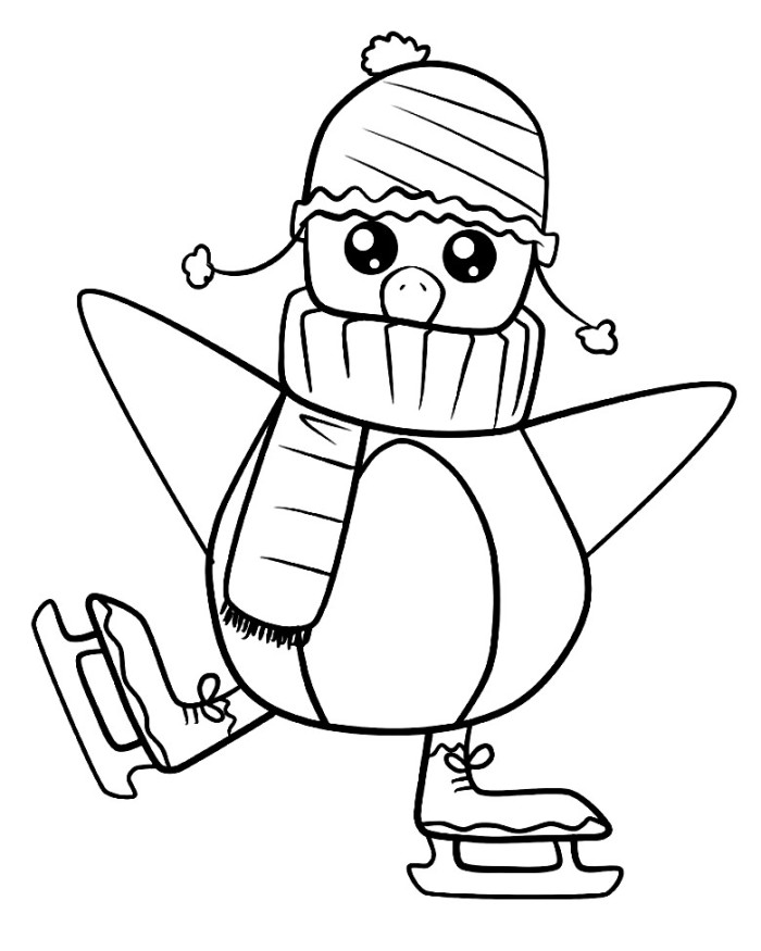 coloring page of penguin cute penguin coloring pages download and print for free of coloring page penguin