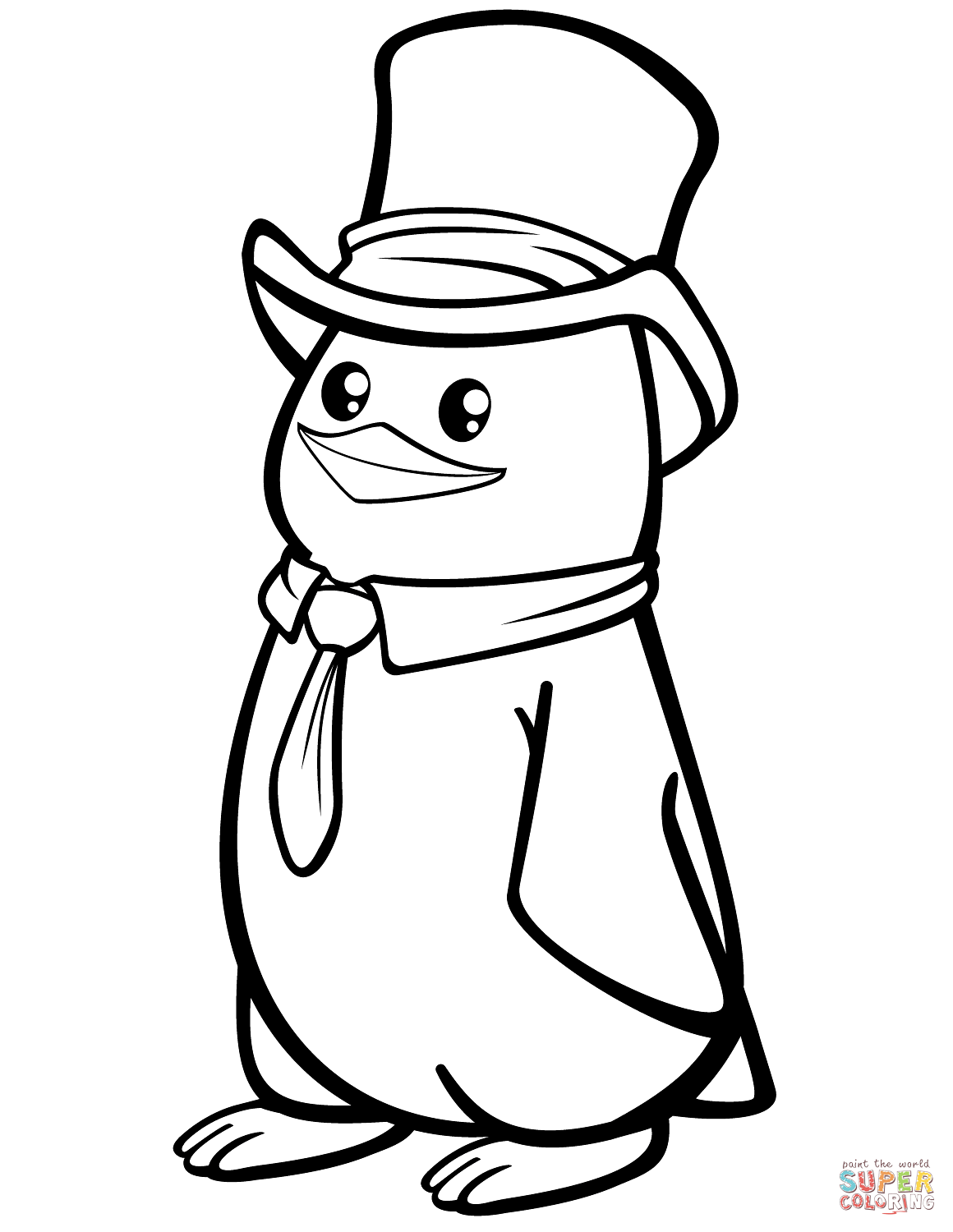 coloring page of penguin get this cute penguin coloring pages 47859 page coloring of penguin