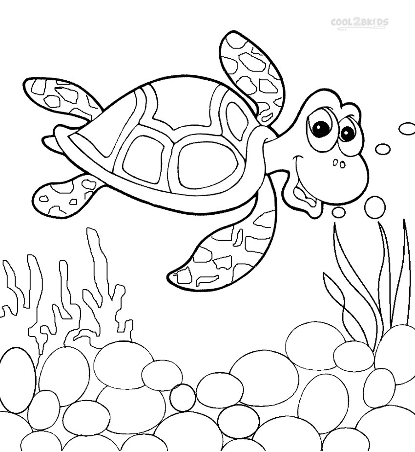 coloring page of sea turtle printable sea turtle coloring pages for kids cool2bkids coloring page of sea turtle