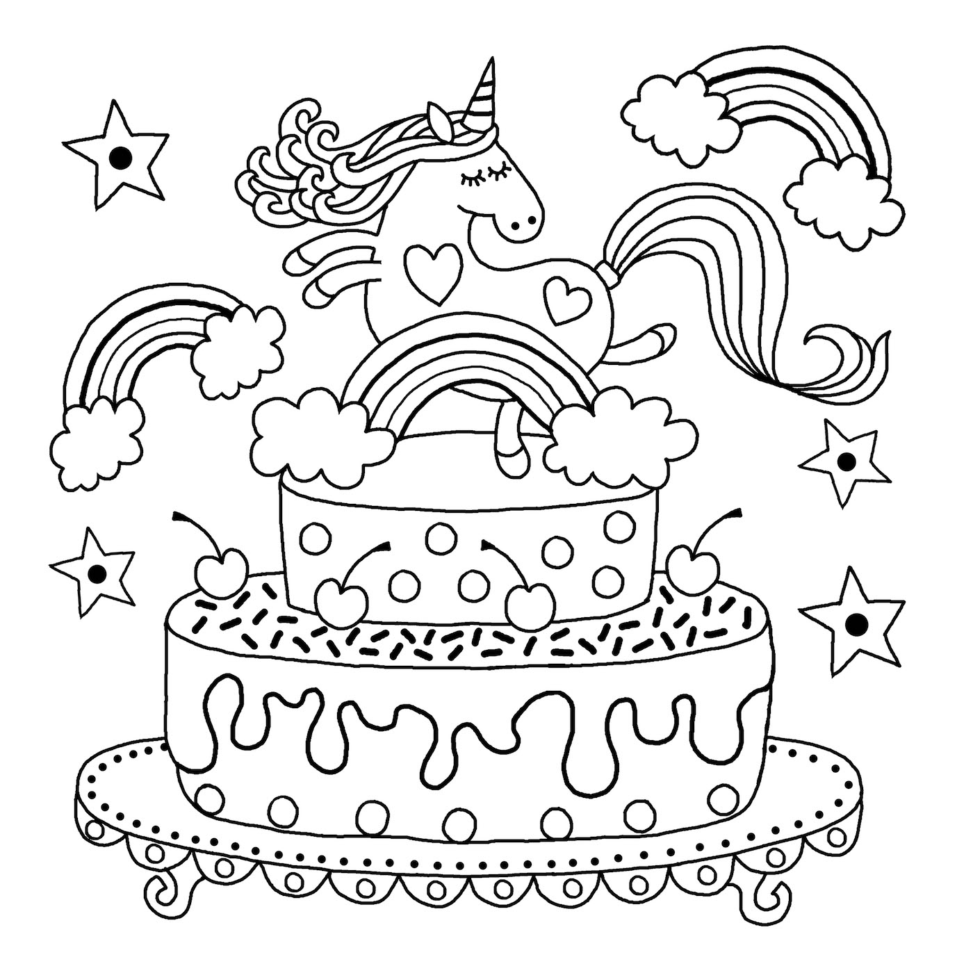 coloring page of unicorn cute unicorn with watermelon coloring pages for you coloring page unicorn of