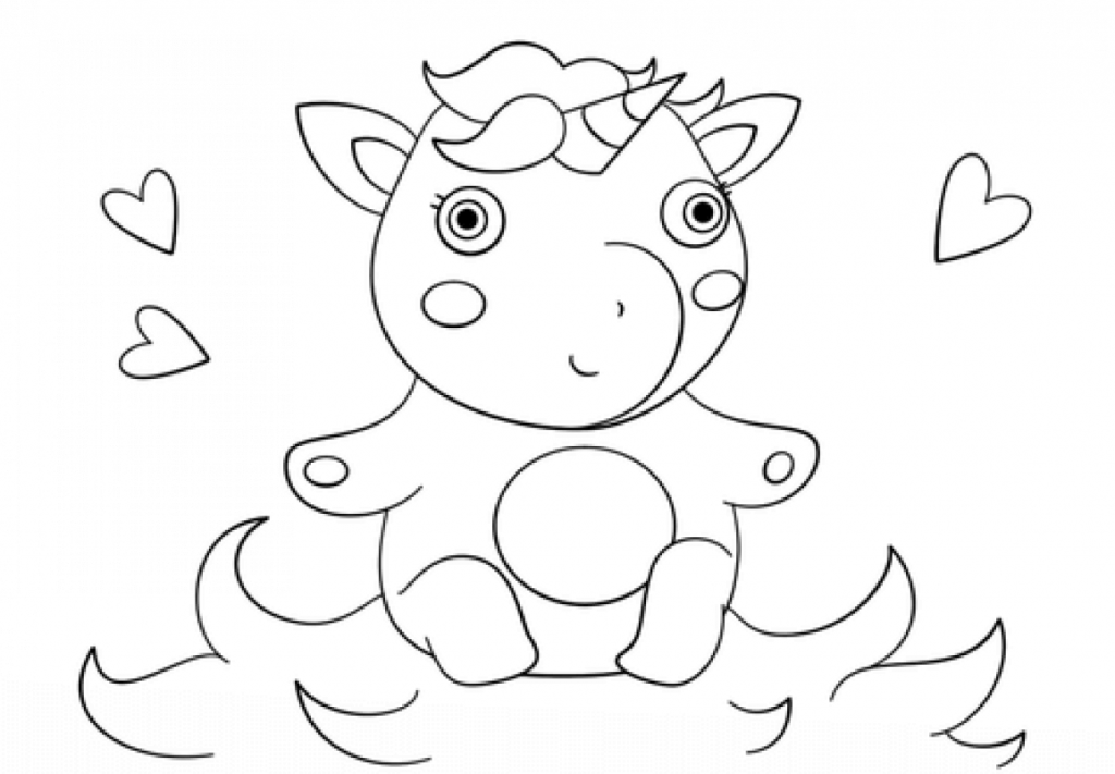 coloring page of unicorn unicorn coloring pages free learning printable of unicorn page coloring