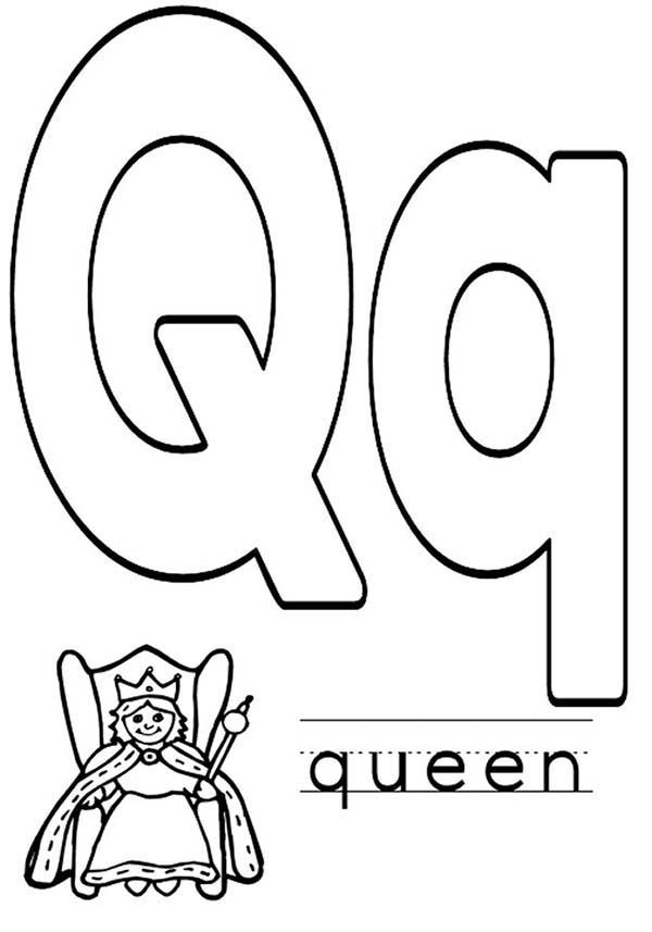coloring page q letter q capital letter q for quilt coloring page for q page coloring