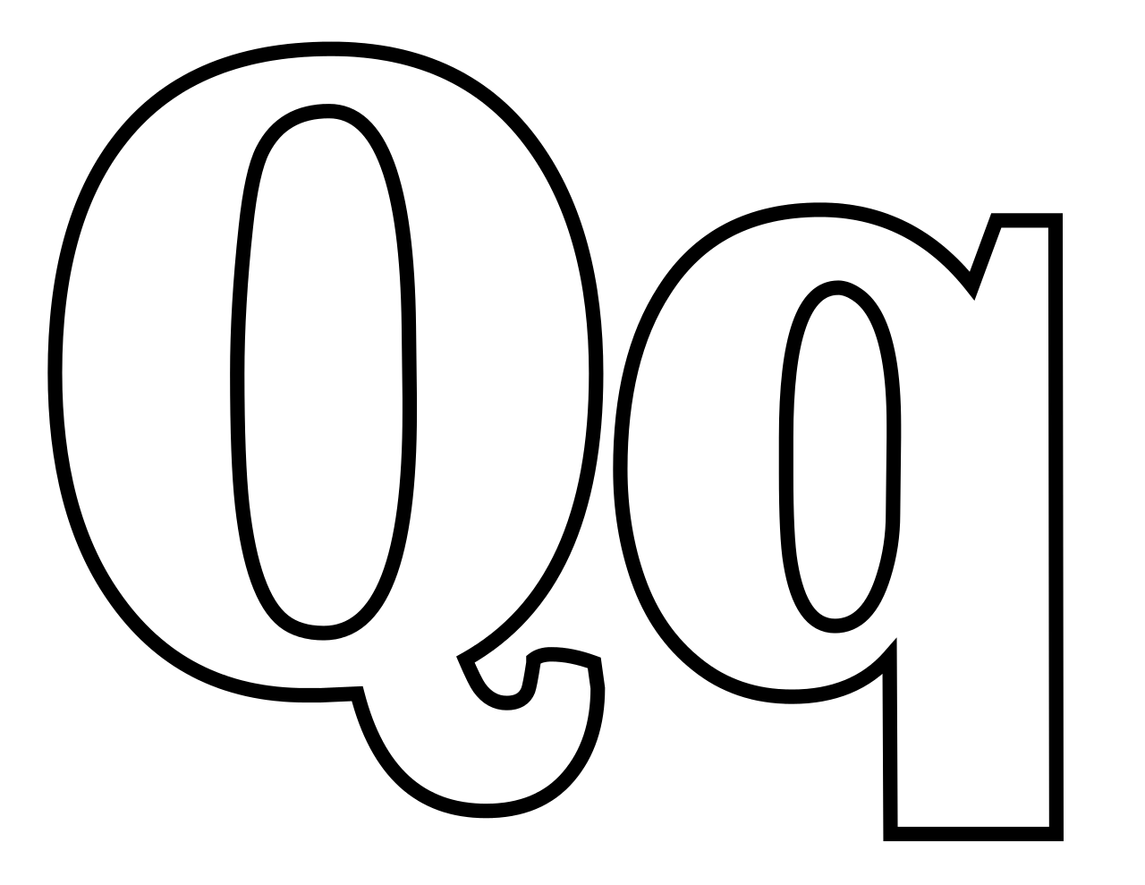 coloring page q letter q coloring pages at getcoloringscom free coloring q page