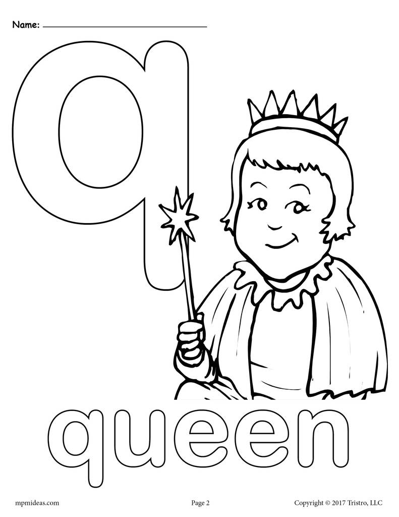 coloring page q letter q preschool kids learn capital letter q coloring page q coloring