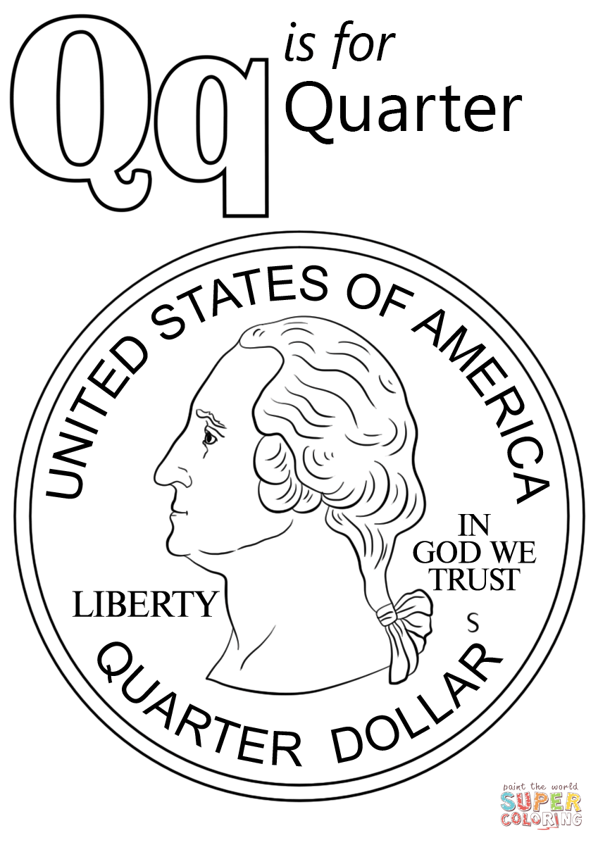 coloring page q letter q with plants coloring page free printable coloring page q