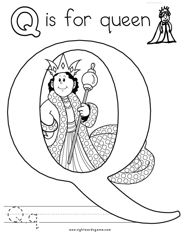 coloring page q the letter q coloring pages coloring pages for kids page q coloring