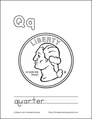 coloring page quarter tail of quarter coloring page pages sketch coloring page quarter coloring page