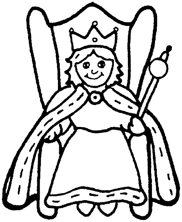 coloring page queen queen coloring pages free download on clipartmag coloring queen page