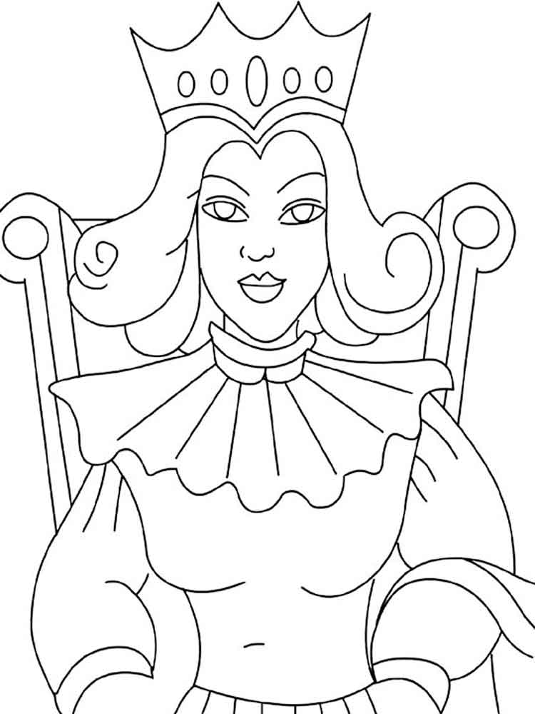 coloring page queen queen coloring pages free download on clipartmag queen page coloring