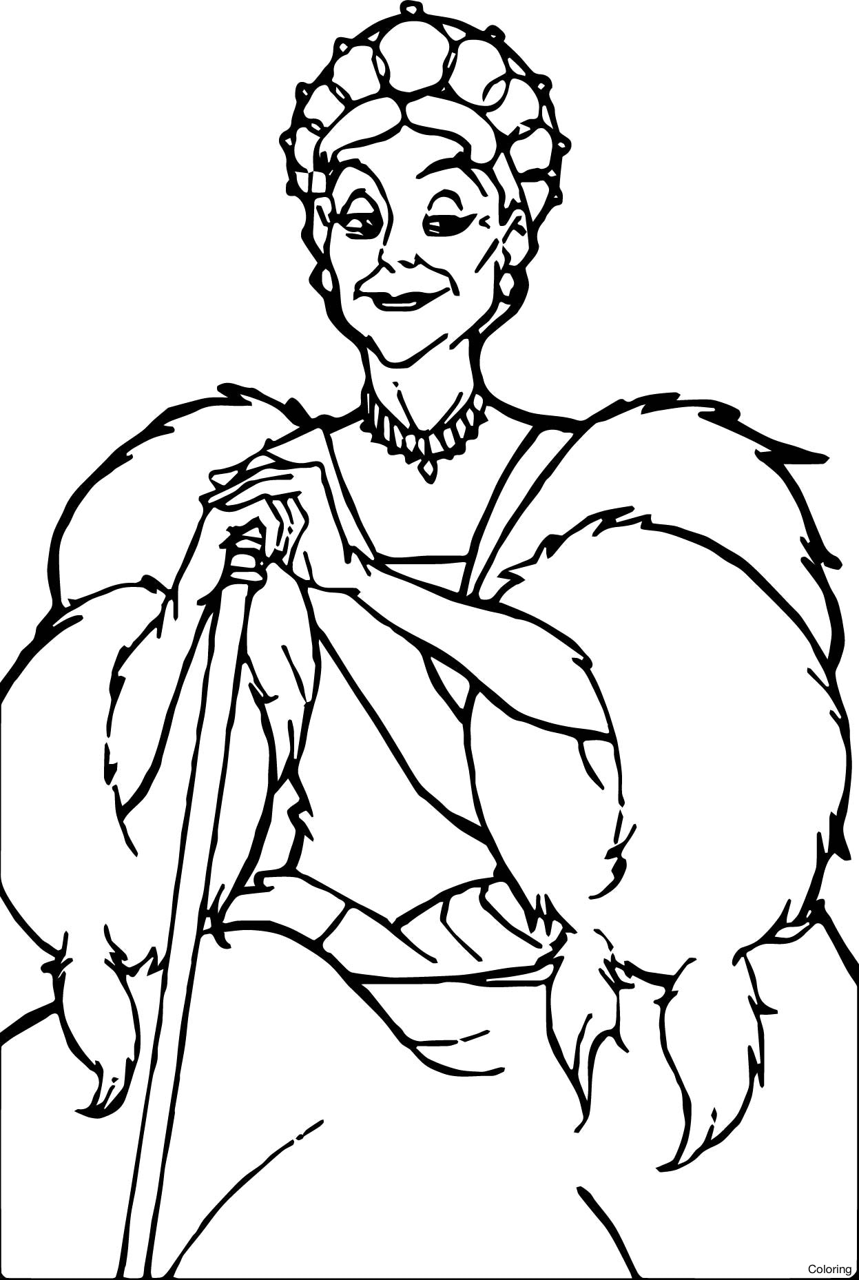 coloring page queen snow queen adult coloring page fantasy line art etsy page coloring queen