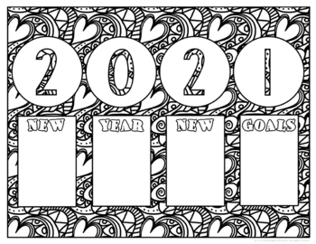 coloring pages 2020 free printable coloring page happy new year 2020 archives coloring 2020 pages