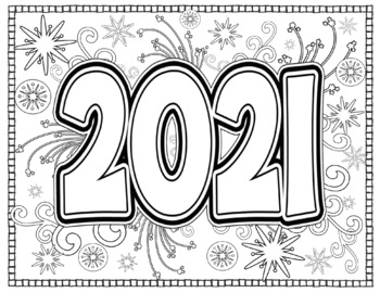 coloring pages 2020 happy new year 2020 coloring pages coloring home 2020 pages coloring