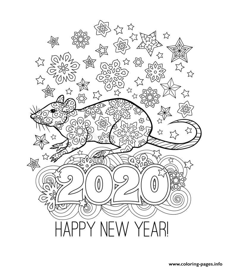 coloring pages 2020 happy new year 2020 coloring pages coloring home coloring 2020 pages 1 2