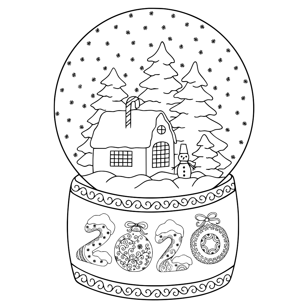 coloring pages 2020 new year 2020 coloring pages to download and print for free 2020 coloring pages