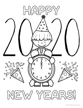 coloring pages 2020 top 10 new year 2020 coloring pages free printable 2020 pages coloring