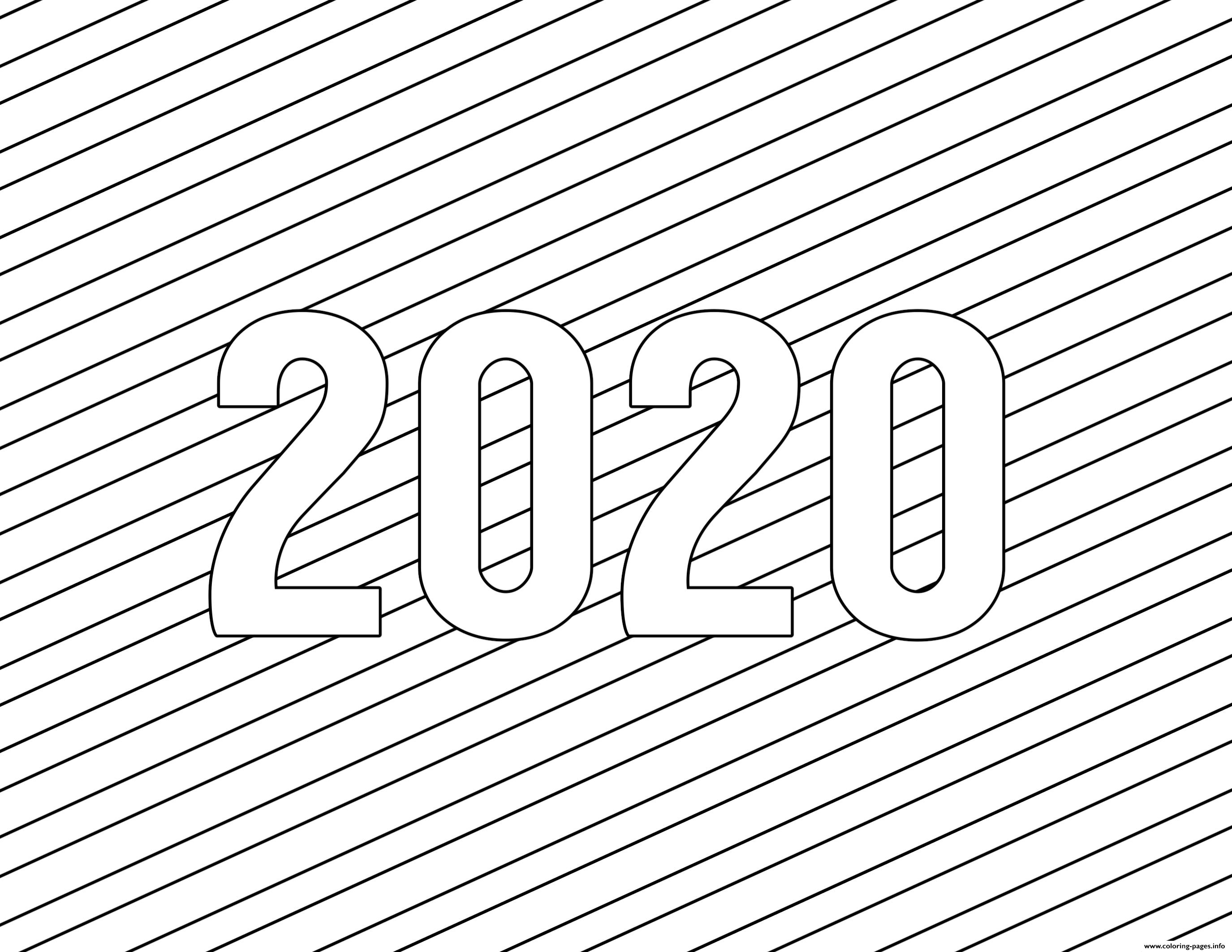 coloring pages 2020 top 10 new year 2020 coloring pages free printable pages 2020 coloring